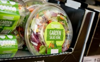 Food Labels Garden Salad Bowl